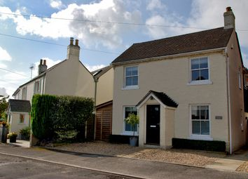Thumbnail 3 bed detached house for sale in Spring Road, Lymington
