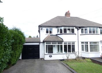Thumbnail 3 bed semi-detached house for sale in White Farm Road, Sutton Coldfield