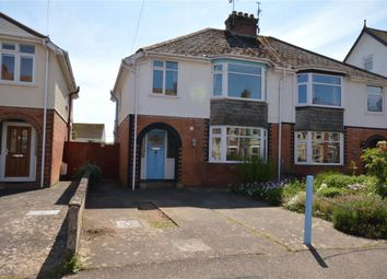 Thumbnail 3 bed semi-detached house for sale in Lyndhurst Road, Exmouth, Devon