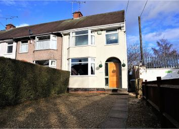 Thumbnail 3 bedroom end terrace house for sale in Brownshill Green Road, Coventry