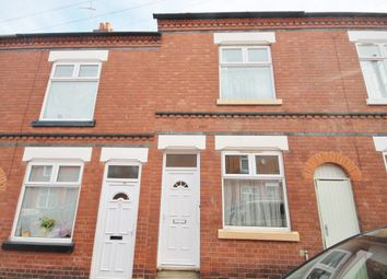 Thumbnail 2 bed terraced house for sale in Cromer Street, Evington, Leicester