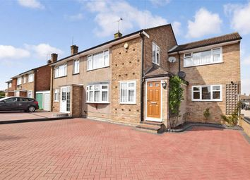 Thumbnail 4 bed semi-detached house for sale in Kenilworth Drive, Rainham, Gillingham, Kent