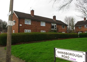 Thumbnail 2 bed flat for sale in Gainsborough Road, Upton, Wirral