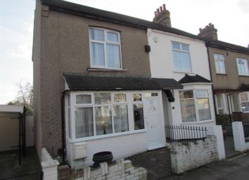 Thumbnail 2 bedroom end terrace house for sale in Essex Road, Romford