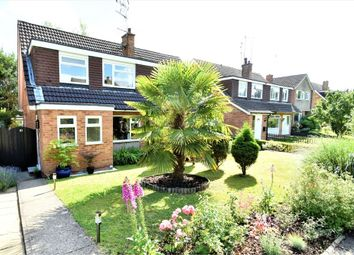 Thumbnail 3 bed semi-detached house for sale in Faulkner Place, Bagshot, Surrey