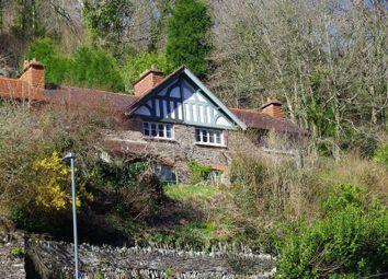 Thumbnail 2 bed end terrace house for sale in Lynbridge, Lynton