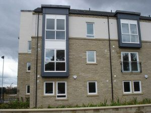 Thumbnail 1 bed flat to rent in Lunar Apartments, Otley Road, Bradford
