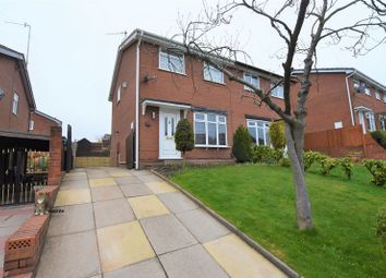 Thumbnail 3 bed semi-detached house for sale in Amison Street, Longton, Stoke-On-Trent