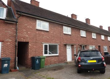 Thumbnail 4 bed terraced house to rent in Clive Road, Shrewsbury
