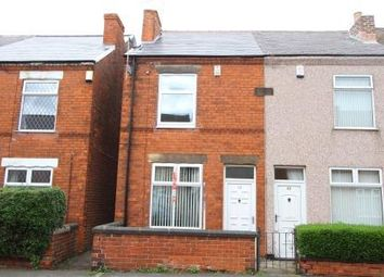 Thumbnail 2 bed end terrace house to rent in Henry Street, Grassmoor, Chesterfield