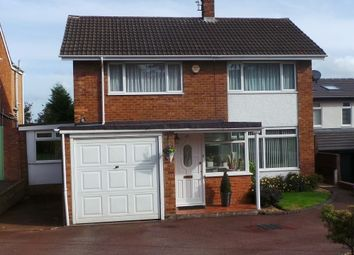 Thumbnail 3 bed detached house for sale in Hawthorn Road, Wylde Green, Sutton Coldfield