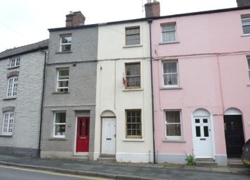 Thumbnail 3 bed terraced house to rent in The Struet, Brecon