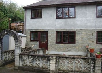 Thumbnail 2 bed flat to rent in Polbathic, Torpoint