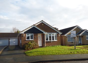 Thumbnail 3 bed detached bungalow for sale in The Limes, Ravenstone, Coalville