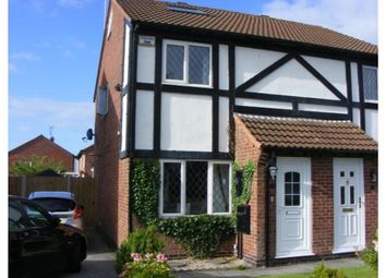 Thumbnail 3 bed semi-detached house to rent in Dukeries Lane, Oakwood, Derby