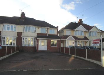 Thumbnail 4 bed semi-detached house for sale in Elm Avenue, Wednesfield, Wolverhampton