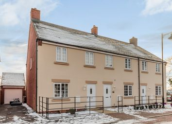 Thumbnail 3 bed end terrace house for sale in Oak Lane, Peterborough, Cambridgeshire