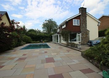 Thumbnail 4 bed detached house to rent in Castle Road, Raglan, Monmouthshire