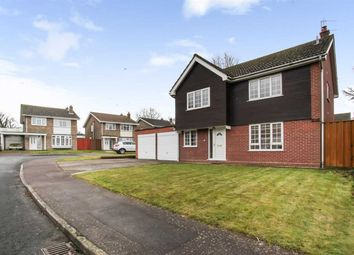 Thumbnail 4 bed detached house for sale in The Lawns, Melbourn, Royston