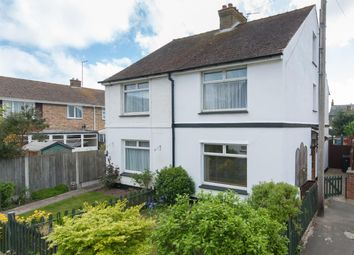 Thumbnail 3 bedroom semi-detached house for sale in Havelock Road, Walmer, Deal