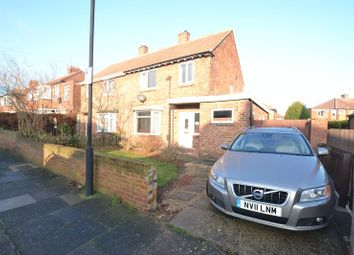 Thumbnail 3 bed semi-detached house to rent in Heathdale Gardens, High Heaton, Newcastle Upon Tyne