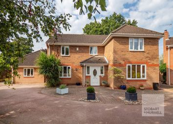 Thumbnail 5 bed detached house for sale in Howard Close, Thorpe St Andrew, Norfolk