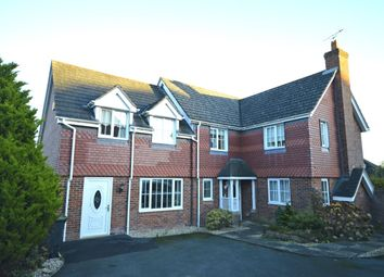 Thumbnail 4 bed detached house to rent in Onnen Gardens, Trefonen, Oswestry