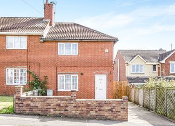 Thumbnail 2 bed semi-detached house for sale in School Street, Upton, Pontefract
