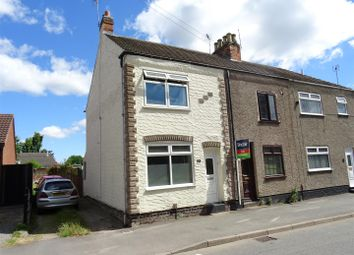 Thumbnail 2 bed end terrace house for sale in Grange Road, Hugglescote, Leicestershire