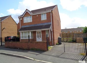 Thumbnail 3 bed detached house to rent in Stonefield Drive, Manchester