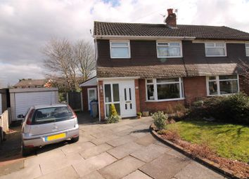 Thumbnail 3 bed semi-detached house for sale in Coberley Avenue, Urmston, Manchester