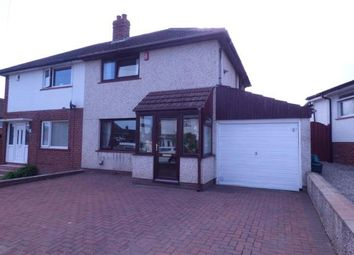 Thumbnail 2 bed semi-detached house for sale in High Meadow, Carlisle, Cumbria
