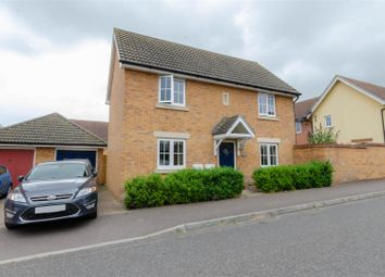 Thumbnail 3 bed detached house for sale in Heron Road, Costessey, Norwich