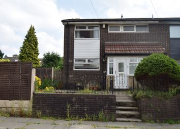 Thumbnail 3 bed terraced house to rent in Fern Close, Manchester
