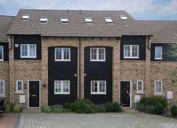 Thumbnail 4 bedroom town house for sale in Weir Cottage Close, Eaton Ford, St. Neots