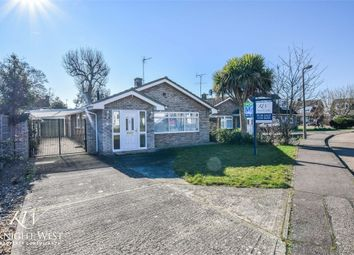 Thumbnail 3 bed detached bungalow for sale in Oakwood Drive, West Mersea, Colchester