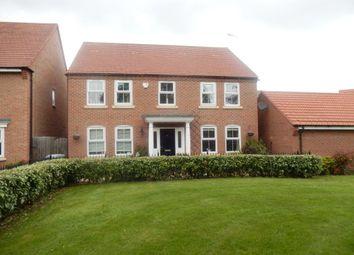 Thumbnail 4 bed detached house to rent in Marron Close, Fernwood, Newark, Nottinghamshire