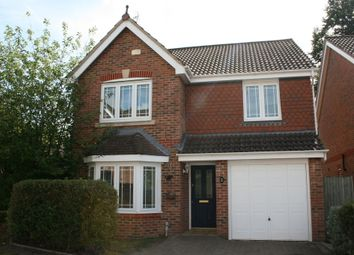 Thumbnail 4 bed detached house to rent in Tringham Close, Knaphill, Woking