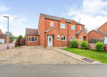 3 bed semi-detached house for sale in Jubilee Close, Sutton St. James, Spalding PE12