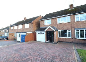 Thumbnail 3 bed semi-detached house for sale in Ettington Road, Mount Nod, Coventry, West Midlands