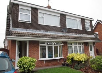 Thumbnail 3 bed semi-detached house to rent in Sheldon Close, Spital, Wirral