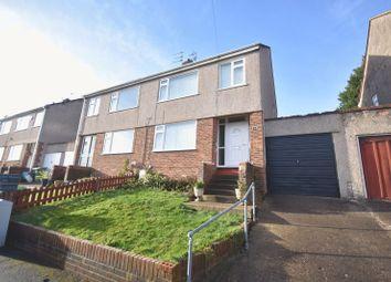 Thumbnail Semi-detached house to rent in Brook Road, Mangotsfield, Bristol