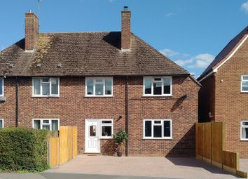 Thumbnail 3 bed semi-detached house to rent in Hawthorn Road, Newbury