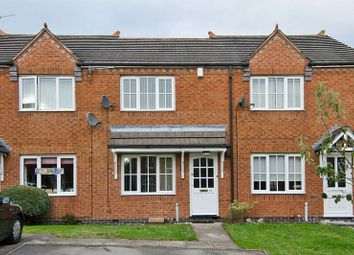 Thumbnail 2 bed terraced house to rent in Bromley Close, Hednesford, Cannock