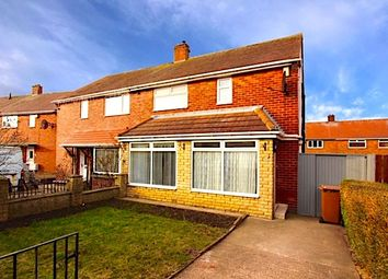 Thumbnail 3 bedroom semi-detached house to rent in Mitford Gdns, Howdon, Wallsend.