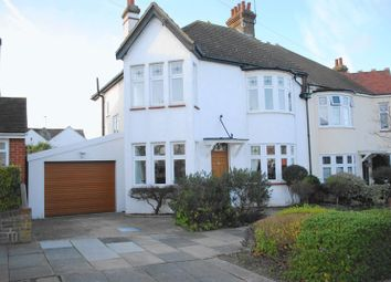Thumbnail 4 bedroom semi-detached house for sale in Woodcote Road, Leigh-On-Sea