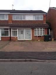 Thumbnail 3 bed semi-detached house to rent in Templemore Drive, Birmingham