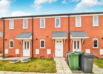 Thumbnail 2 bedroom terraced house for sale in Bartram Close, Wymondham