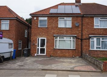 Thumbnail 3 bed semi-detached house for sale in Cedarcroft Road, Ipswich
