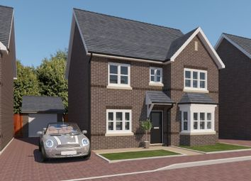 Thumbnail 4 bed detached house for sale in Bollandsfield View, Tarporley Road, Whitchurch